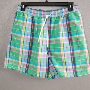 Polo By Ralph Lauren Plaid Swim Trunks XXL